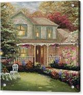 Robinson House Acrylic Print by Cecilia Brendel