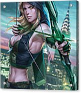Robyn Hood Wanted 01a Acrylic Print by Zenescope Entertainment
