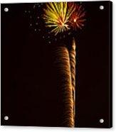 Rockets Skyward  Acrylic Print by Saija  Lehtonen