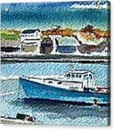 Rockport Harbor Acrylic Print by Scott Nelson