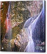 Rocks And Water Acrylic Print by Elena Elisseeva