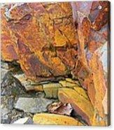 Rocks1 Acrylic Print by Katina Cote