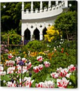 Rococo Spring Acrylic Print by Anne Gilbert