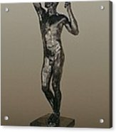 Rodin, Auguste 1840-1917. The Age Acrylic Print by Everett