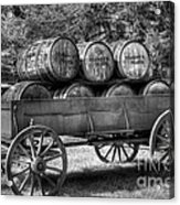 Roll Out The Barrels Acrylic Print by Mel Steinhauer