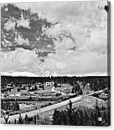 Rollinsville Colorado Small Town 181 In Black And White Acrylic Print by James BO  Insogna