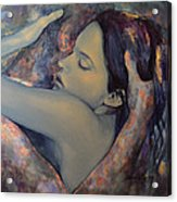 Romance With A Chimera Acrylic Print by Dorina  Costras
