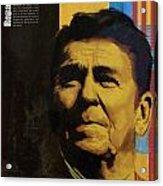 Ronald Reagan Acrylic Print by Corporate Art Task Force