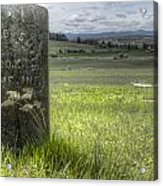Room With A View Acrylic Print by Jean Noren