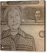 Rosa Parks Imagined Progress Acrylic Print by Irving Starr