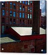 Roy Hill Mill  Acrylic Print by Bob Orsillo