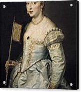 Rubens, Peter Paul 1577-1640. A Woman Acrylic Print by Everett