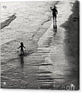Running Wild Running Free Acrylic Print by Edward Fielding
