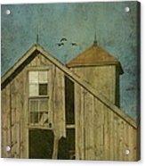 Rural Iowa Barn 5 Acrylic Print by Cassie Peters