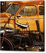 Rust Race Acrylic Print by Joe Jake Pratt