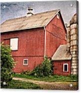 Rustic Barn Acrylic Print by Bill Wakeley