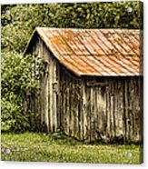Rustic Acrylic Print by Heather Applegate