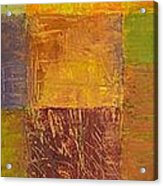 Rustic Layers 2.0 Acrylic Print by Michelle Calkins