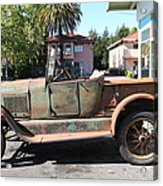 Rusty Old Ford Jalopy 5d24649 Acrylic Print by Wingsdomain Art and Photography