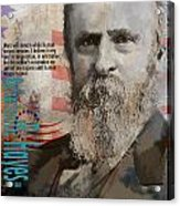 Rutherford B. Hayes Acrylic Print by Corporate Art Task Force