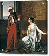 Sabatelli, Gaetano 1842-1893. Otello Acrylic Print by Everett