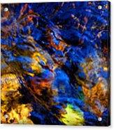 Sacred Art Of Water 4 Acrylic Print by Peter Cutler