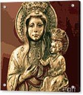 Sacred Icon Acrylic Print by Patricia Januszkiewicz