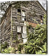 Saddle Store 2 Of 3 Acrylic Print by Jason Politte