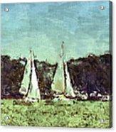 Sail Away Acrylic Print by Susan Leggett