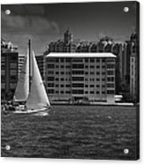 Sailing Away  Acrylic Print by Mario Celzner