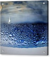 Sailing The Liquid Blue Acrylic Print by Joyce Dickens
