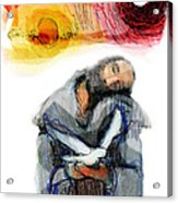 Saint Francis Acrylic Print by Daniel Bonnell