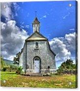 Saint Joeseph's Church Maui  Hawaii Acrylic Print by Puget  Exposure