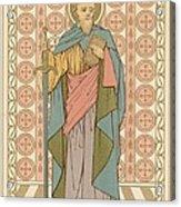 Saint Paul Acrylic Print by English School