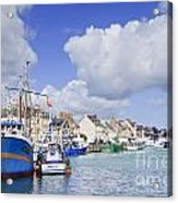 Saint Vaast La Hougue Normandy France Acrylic Print by Colin and Linda McKie