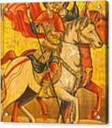 Saints Sergius And Bacchus Acrylic Print by Marx Broszio