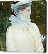 Sally Fairchild Acrylic Print by John Singer Sargent