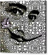 Salvador Dali - Surreal - Stone Rock'd Art By Sharon Cummings Acrylic Print by Sharon Cummings