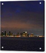 San Diego Night Sky Acrylic Print by Christine Till