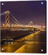 San Francisco Bay Bridge Acrylic Print by Pierre Leclerc Photography