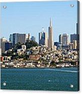 San Francisco Skyline Acrylic Print by Kelley King