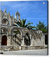 San Giovanni Alle Catacombe In Siracusa Acrylic Print by RicardMN Photography