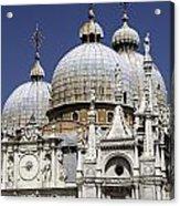 San Marco Basilica. Acrylic Print by Fernando Barozza