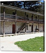Sanchez Adobe Pacifica California 5d22643 Acrylic Print by Wingsdomain Art and Photography