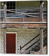 Sanchez Adobe Pacifica California 5d22657 Acrylic Print by Wingsdomain Art and Photography