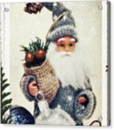 Santa Claus Acrylic Print by Angela Doelling AD DESIGN Photo and PhotoArt