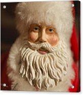 Santa Claus - Antique Ornament - 07 Acrylic Print by Jill Reger