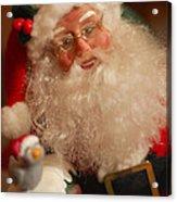Santa Claus - Antique Ornament - 11 Acrylic Print by Jill Reger