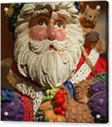 Santa Claus - Antique Ornament - 20 Acrylic Print by Jill Reger