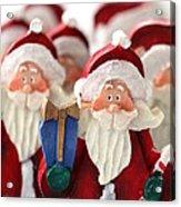 Santa Claus' Army  Acrylic Print by Sophie Vigneault